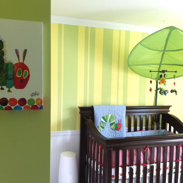 Very Hungry Caterpillar Nursery Just A Little Crafty Diy