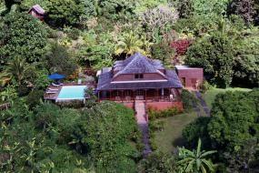 Hotel jardin malanga Trois Rivières Guadeloupe♡♡