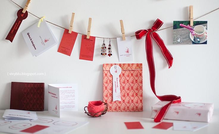 Vixyblu - handmade creative boutique: Noua identitate Happy Accesories