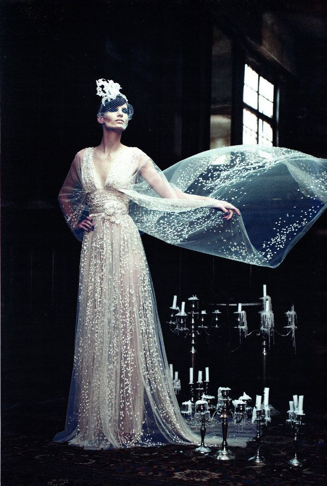 Dream Works   Iris Strubegger   Alexi Lubomirski   Vogue Germany Sept '11