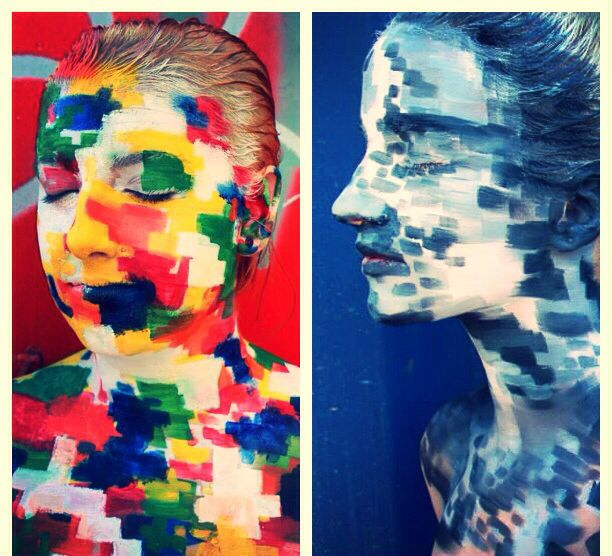 Pixalated.  By Jessica Brown and Samantha Nichol.