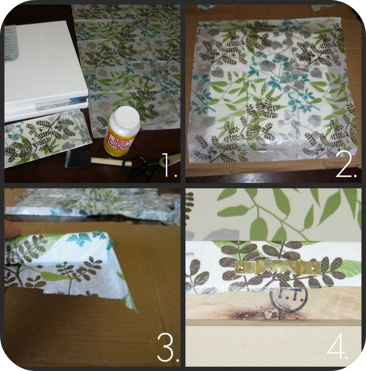 homemade by jill: tissue paper art