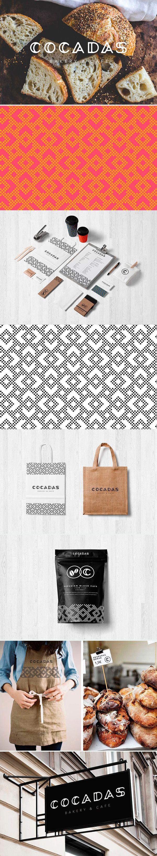identity / C O C A D A S - Bakery&Cafe