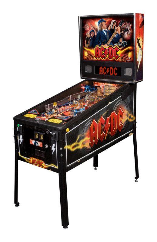 Pinball Machines - AC/DC Pinball Machine - The Pinball Company
