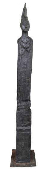 An original sculpture by Deborah Bell entitled: Sentinel II. bronze. #DeborahBell #FineArt #SouthAfricanArt #SouthAfricanArtist #Bronze #Sentinel For more please visit: www.finearts.co.za