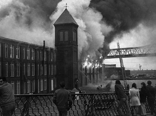 Remembering Some Of The Biggest Fires In Fall River History