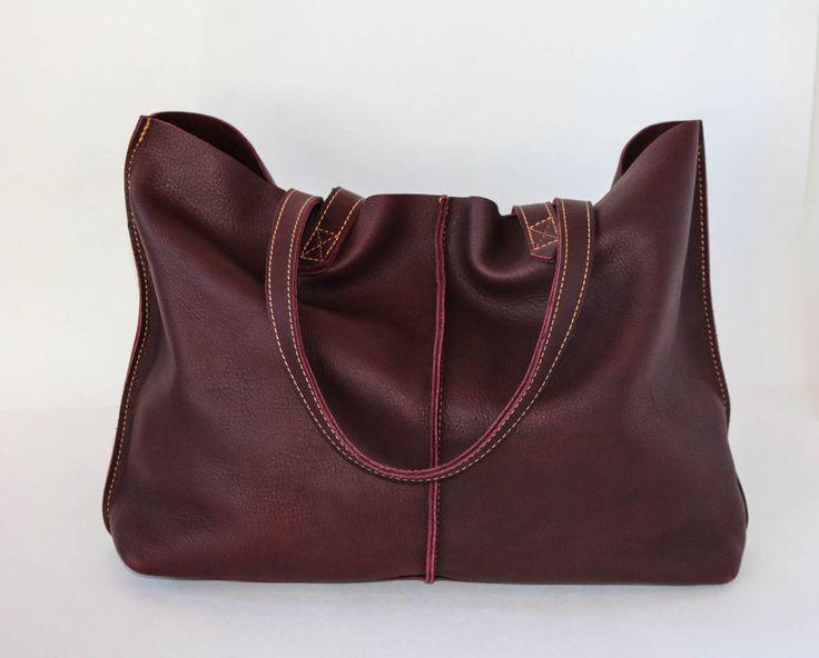 Tote Bag Burgundy