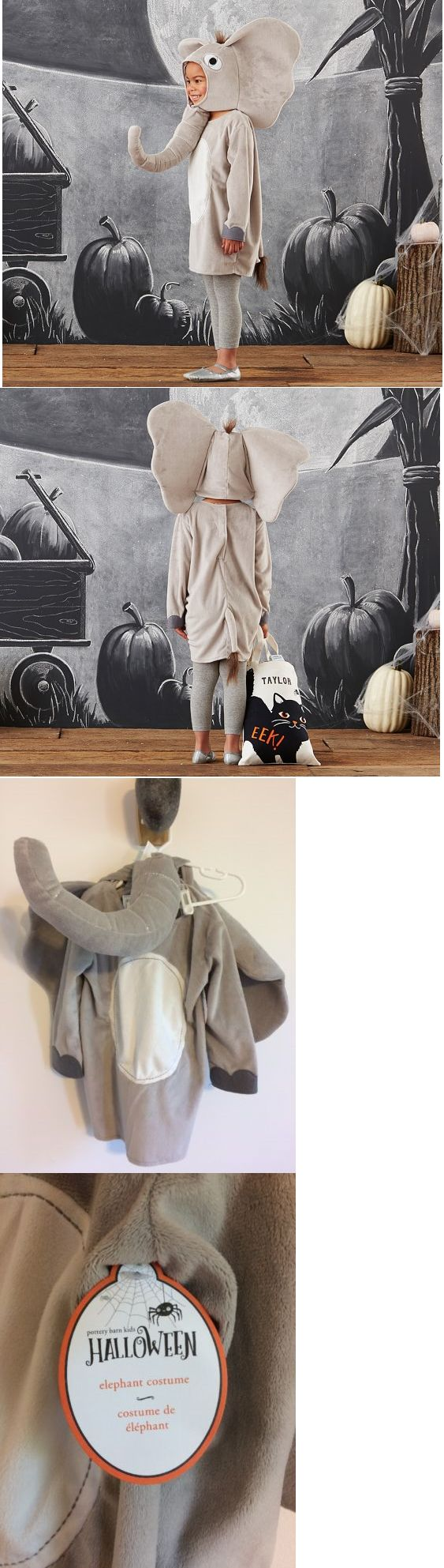 Kids Costumes: Nwt Pottery Barn Kids Halloween Costume Hooded Elephant Costume Sz 3T -> BUY IT NOW ONLY: $59.99 on eBay!
