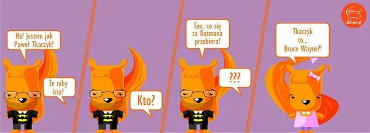 Komiks GRYzonie.pl: Batman vs Tkaczyk