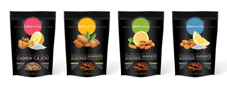 Standup pouch for almonds and cashews | 99designs