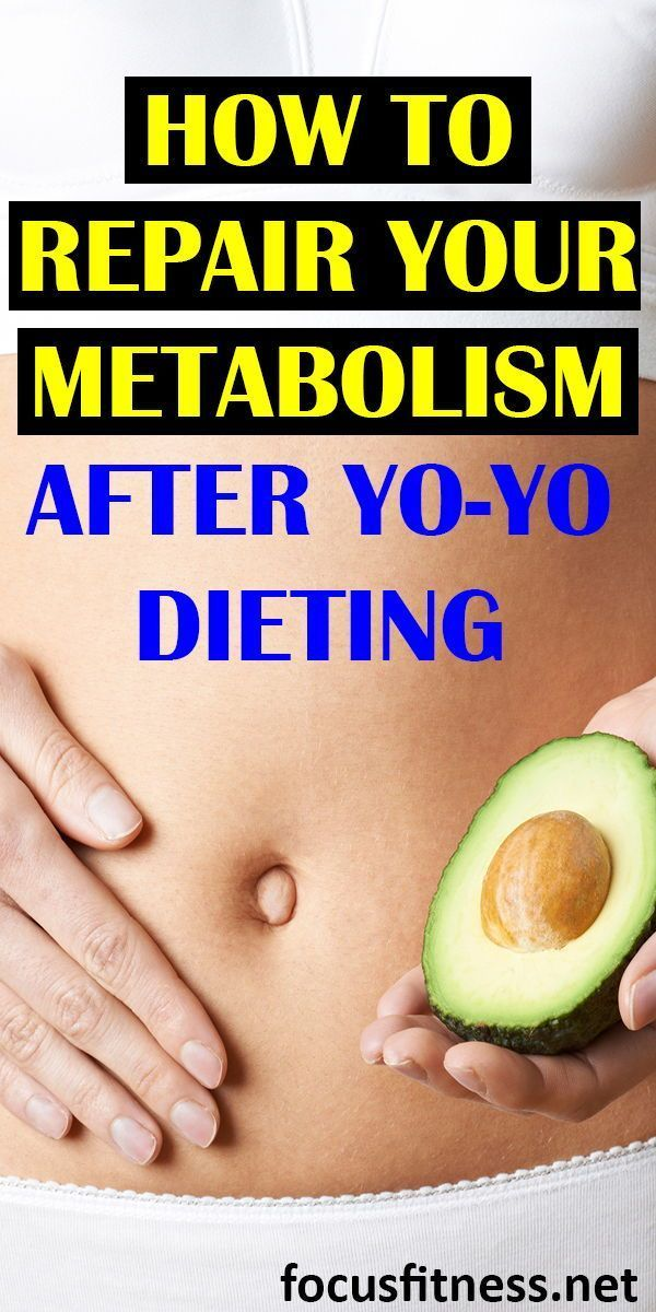 how to repair metabolism after yo yo dieting
