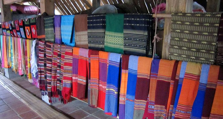 Textile for tourists in Mai Chau. #vietnam #maichau #textile #ethnic #travel #wandering