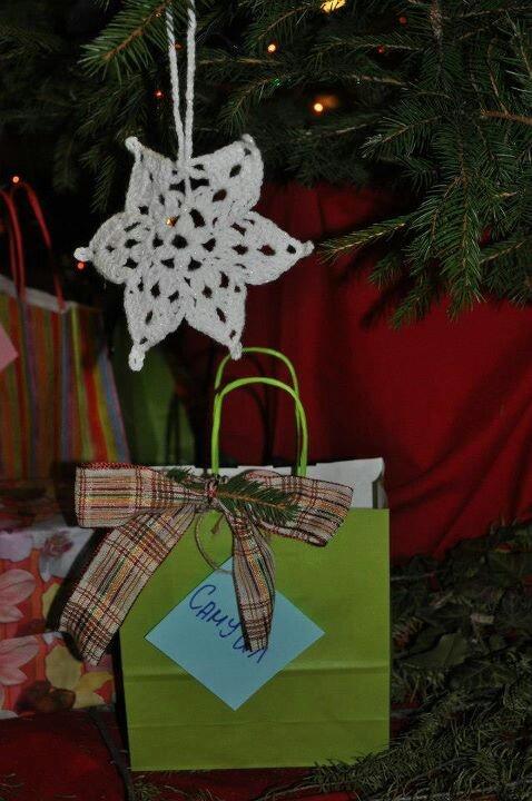 Snowflakes Holiday decor, Christmas ornaments, Holiday