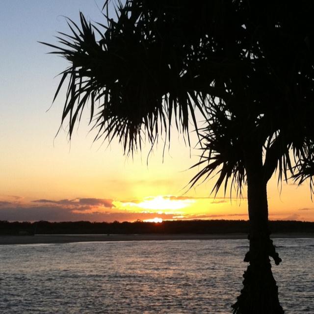 Sunset Noosaville Qld Australia