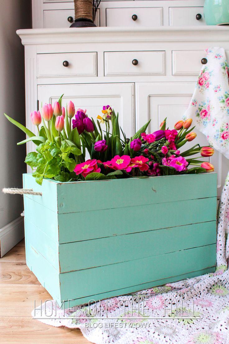 skrzynia na kwiaty