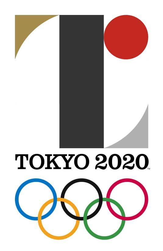 The official logo for the 2020 Summer Games