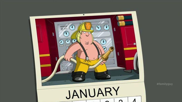 "Chris Griffin, aka ""Mr. January."" #HubbaHubba #familyguy"