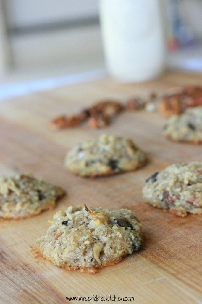 Cowboy Cookies (sugar free, low carb, THM S) - Mrs. Criddles Kitchen