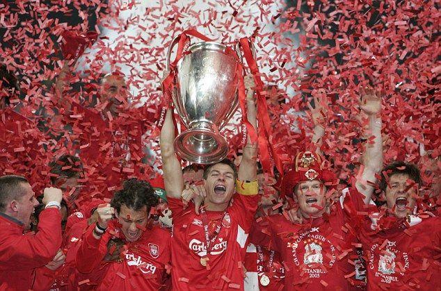 Liverpool Oo Xustay 10 Sano Guurada Guushii Champions League– Aaway ciyaartooyadii