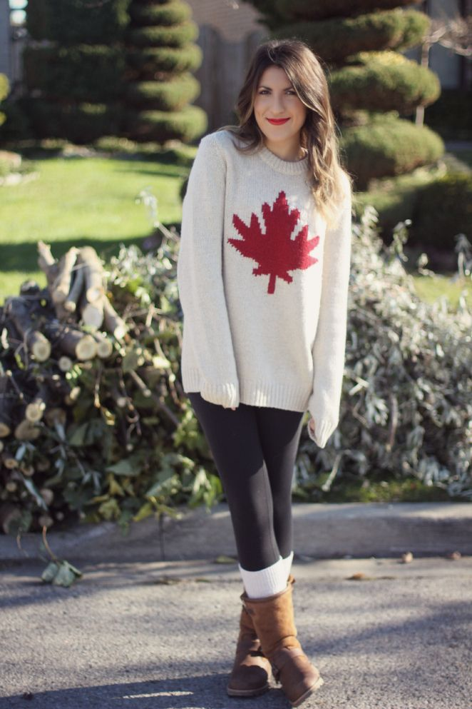 "Super cozy @Roots ""Canadiana"" sweater"