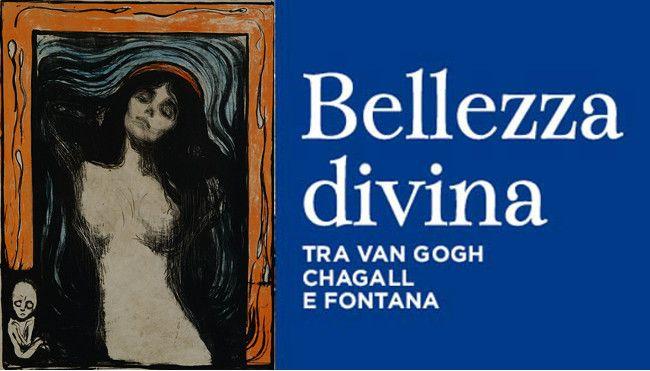 Manifesto Bellezza divina con Edvard #Munch