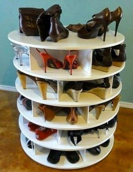 Organizador de Madera para zapatos DIY ~ cositasconmesh