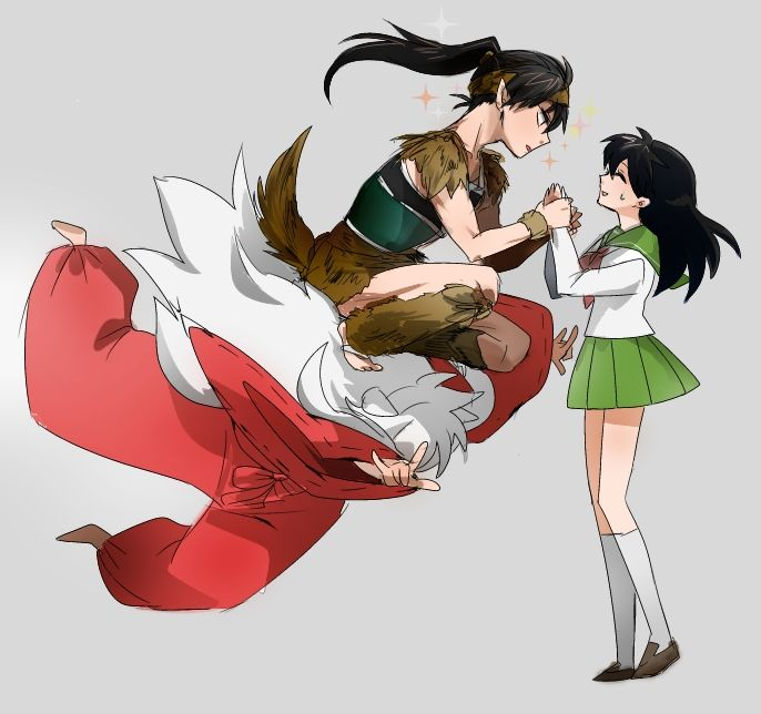 Fem Inuyasha: Mannnnn That Would Have Been A Perfect Alladan Scene