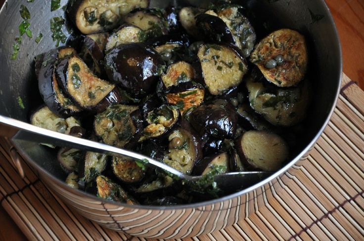 Marinated Eggplant by Turntable Kitchen: Summer Side Dishes, Csa Recipes, Glorious Food, Goddesses Recipes, Marines Eggplants, Fabulous Foodies, Healthy Food, Turntable Kitchens, Eggplants Dishes