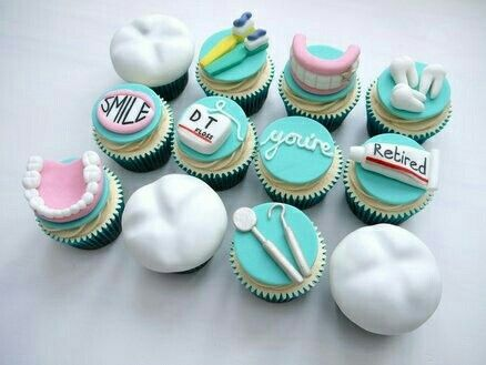 #Dentistry #cupcakes