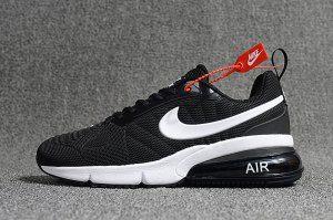 37c626fb1 Mens Nike Air Max Flair 270 Futura V2 Casual Sneakers Black White AH8050 001