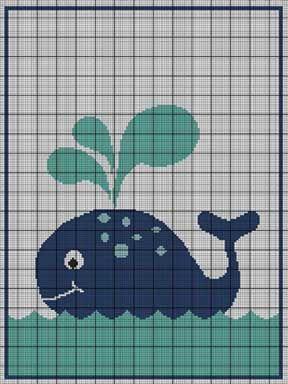 Baby Whale Crochet Pattern