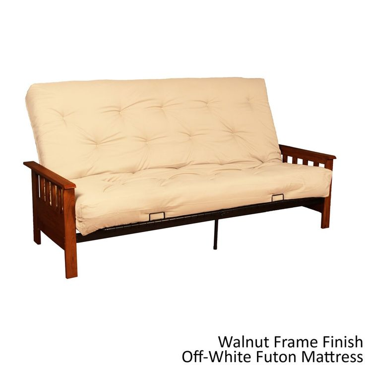 Queen-size Futon Bed and Inner Spring Mattress Set