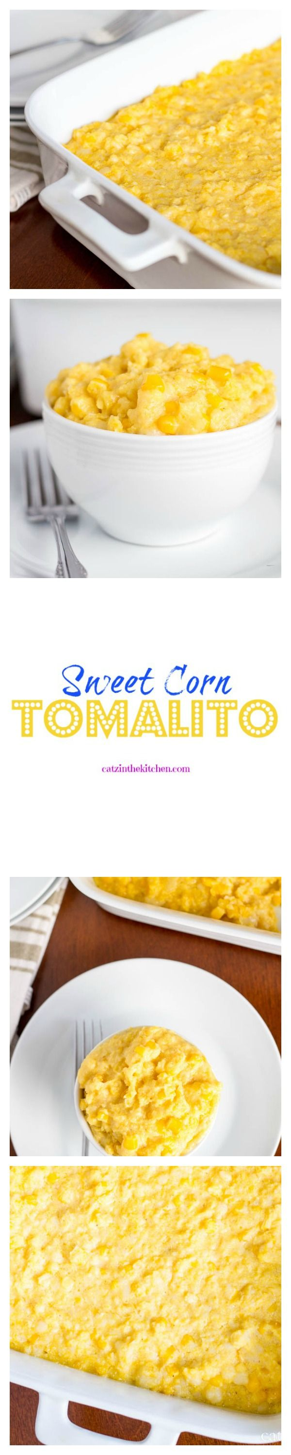 Chevy's Sweet Corn Tomalito. The perfect side dish for your taco nights. -Catzinthekitchen.com