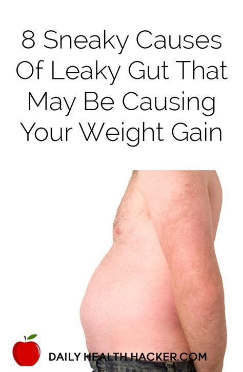 8 Sneaky Causes of Leaky Gut that May Be Causing Your Weight Gain Probio5 and BioCleanse help defend against leaky gut and candida.