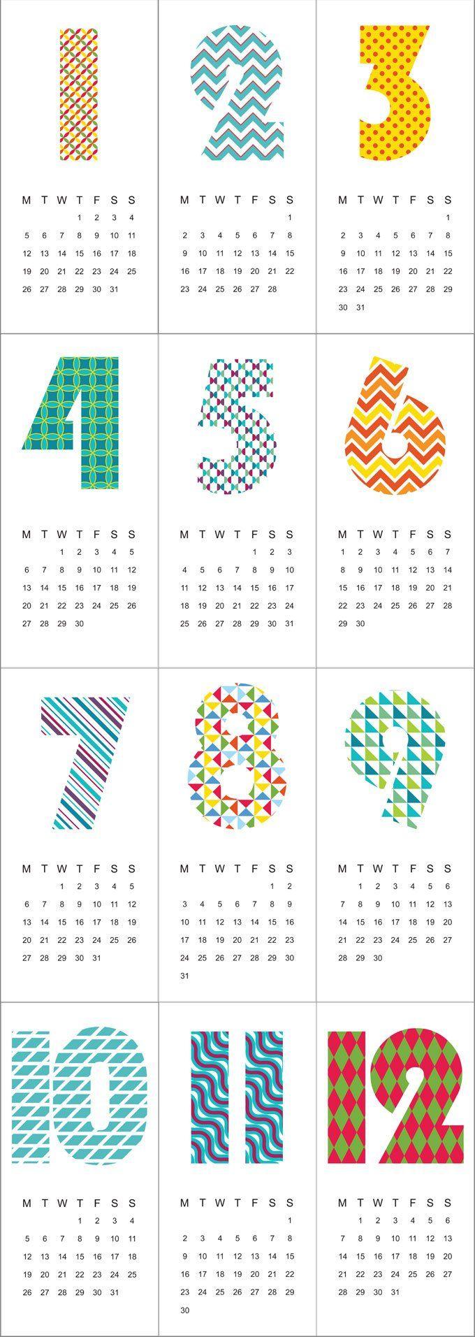 Free 2015 Calendar Printable