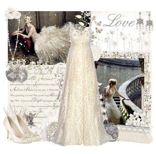 Fairy tale wedding style! x