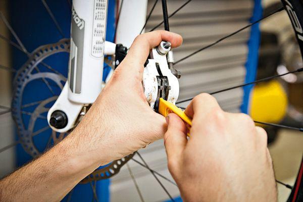 Eight steps to banish disc brake rub #Bike Repair