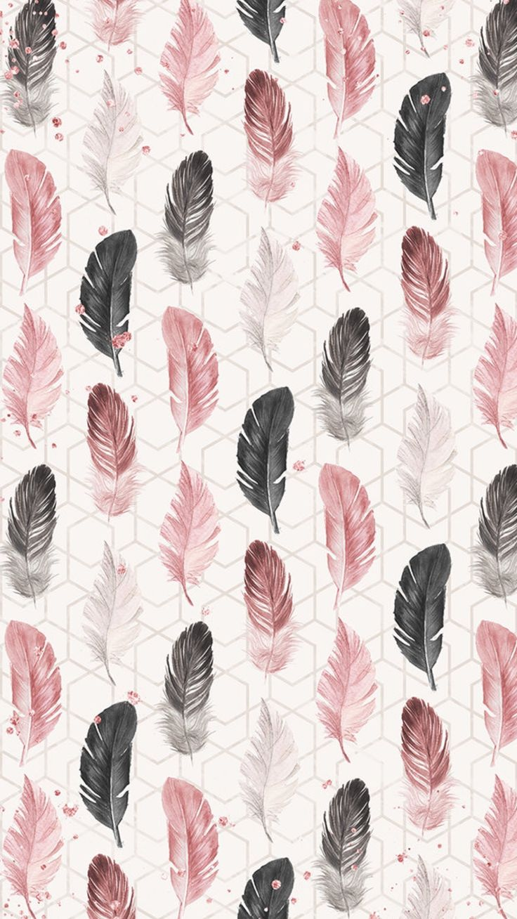 Wallpaper LockScreen Black and Pink