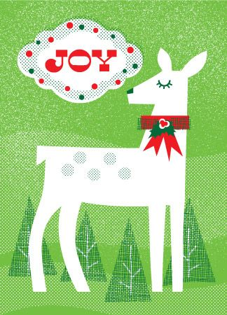 Christmas / XMS-48 - Joy Doe / Holiday Cards from Lure Paper Goods