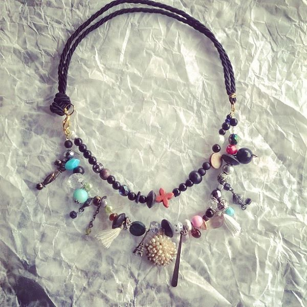 necklace by miranta kosmidou