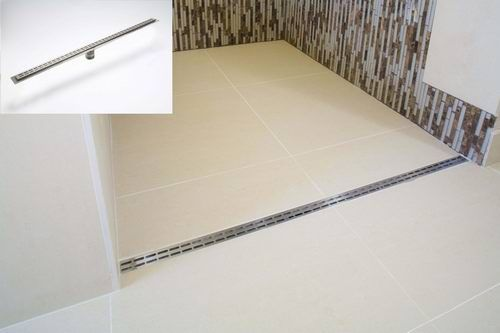 Trench Drain For Doorless Shower