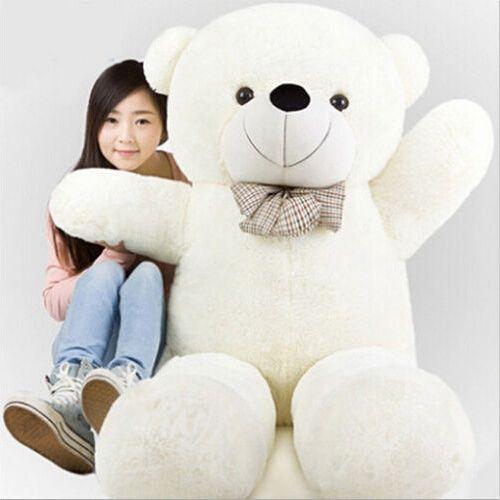 99.80$  Buy now - http://alizgd.shopchina.info/go.php?t=32795471419 - 200CM/2M/78inch giant stuffed teddy bear soft toy animals kid baby plush toy dolls life size doll kids soft toy girls toy 2017  #magazineonline