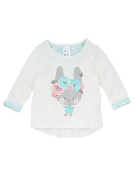 Teeny Weeny Bunny Print Top product photo
