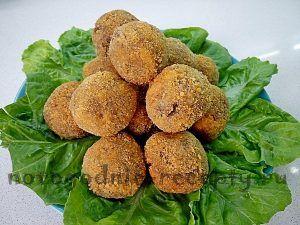 фасолевые шарики - новогодний рецепт #рецепты #кулинария #новогодние_рецепты #закуски #фасоль