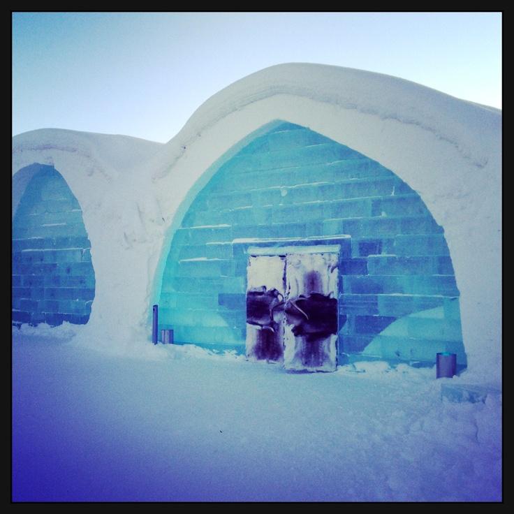 The original ICE HOTEL, Sweden 2013 √