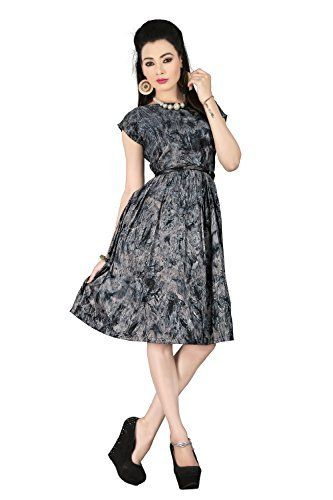 New Arrival Multi color Prism Printed Western Dresses With Ladies Black Leather Belts Collection by TheEmpire THE EMPIRE, http://www.amazon.in/dp/B019IB85G2/ref=cm_sw_r_pi_dp_Vov0wb0CBK94D