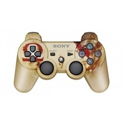 Official Sony DualShock 3 Controller God of War Limited Edition Gold PS3.  $79 delivered!