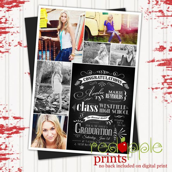 chalkboard graduation announcements - Google Search