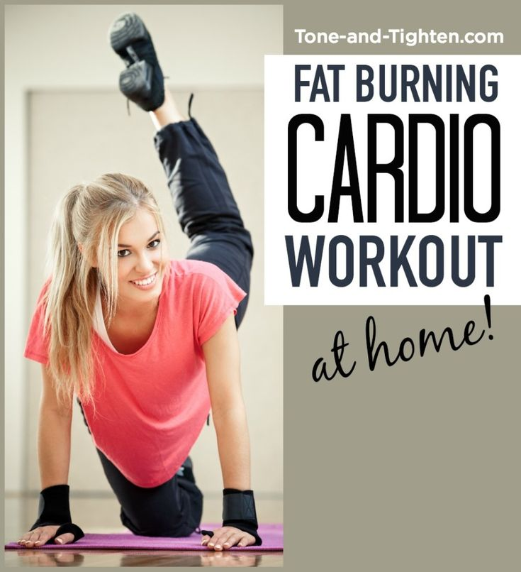 30-minute, at-home cardio workout to tone and tighten head to toe!