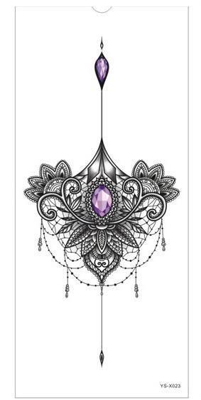 Brust oder Brustbein Tätowierung  #tattoos